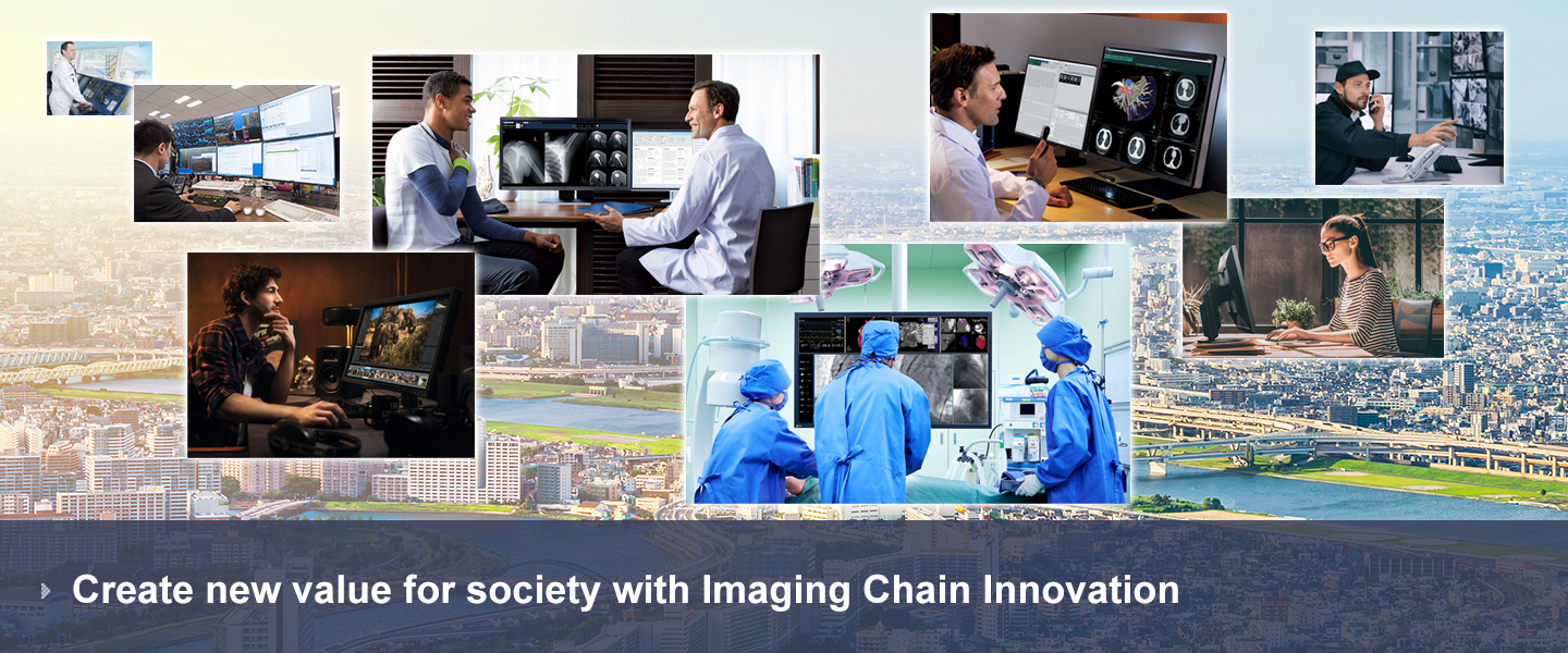 Create new value for society with Imaging Chain Innovation