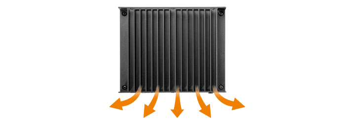 Fanless Solution with Low Heat Output