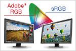 Adobe RGB / sRGB